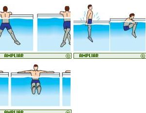 gimnasia en la piscina vespucio runners team